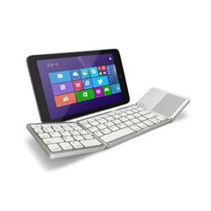 グラントン Tri-folding Bluetooth Keyboard with Track Pad ホワイト GK940-WH GK940-WH|araicamera