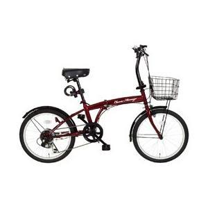 ミムゴ Classic Mimugo FDB206SG-RL/クラシックミムゴ 20インチ折畳自転車 6段ギア クラシックレッド MG-CM206G-RL (北海道・沖縄・離島配送不可)|araicamera