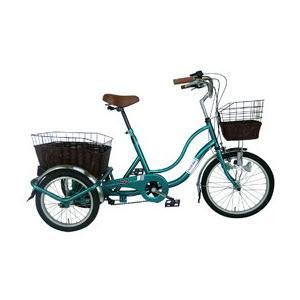 ミムゴ SWING CHARLIE 三輪自転車E グリーン MG-TRW20G (北海道・沖縄・離島配送不可)|araicamera