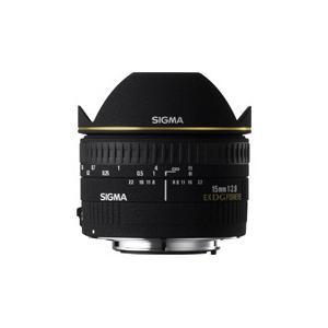 シグマ 広角レンズ 15mm F2.8 EX DG DIAGONAL FISHEYE キヤノンマウント JAN末番476274|araicamera