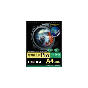 富士フイルム 画彩 写真仕上げPro A4サイズ 30枚 WPA430PRO /インクジェットペーパー|araicamera