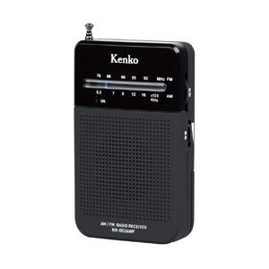 ケンコー AM/FMポケットラジオ KR-003AWF|araicamera