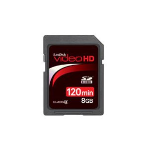 SanDisk SDSDHV-008G-J15 Video HD SDHCカード 8GB  JAN末番4650|araicamera