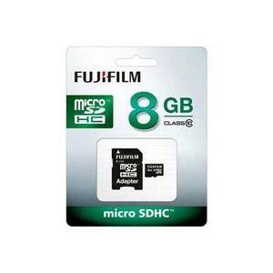 富士フイルム microSDHCメモリーカード 8GB Class10 F MCSDHC-008G-C10 JAN末番269581|araicamera