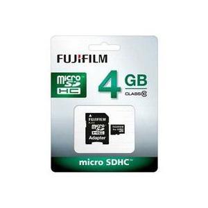 富士フイルム microSDHCメモリーカード 4GB Class10 F MCSDHC-004G-C10 JAN末番269574|araicamera