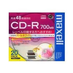 マクセル CD-RメディアCDR700S.WPP.S1P20S JAN末番0954|araicamera
