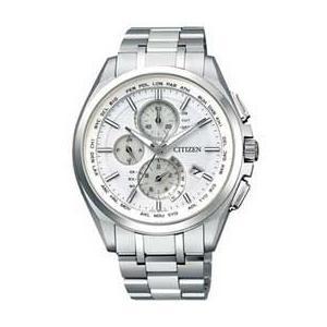 シチズン腕時計アテッサ エコ・ドライブ電波時計 ダイレクトフライト AT8040-57A JAN末番2368|araicamera