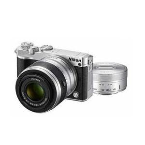 Nikon 1 J5 ダブルズームレンズキット (シルバー)...