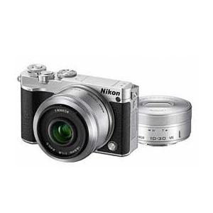 Nikon 1 J5 ダブルレンズキット (シルバー) JA...