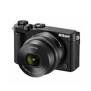 Nikon 1 J5 標準パワーズームレンズキット (ブラッ...