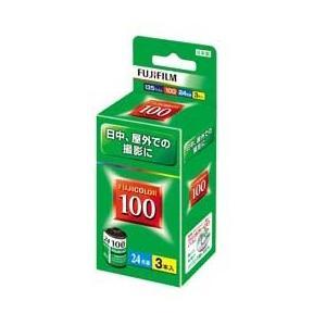 フジカラー FUJICOLOR 100 24枚撮り 3本パック JAN末番172348