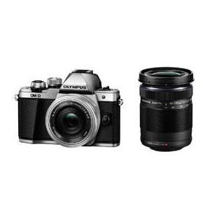 OLYMPUS OM-D E-M10 Mark II EZダブルズームキット (シルバー) JAN末番9331 デジタル一眼(ミラーレス一眼カメラ)|araicamera