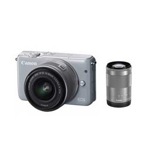 Canon EOS EOS M10 ダブルズームキット (グ...