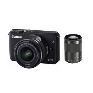 Canon EOS EOS M10 ダブルズームキット (ブ...