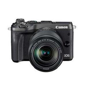 Canon EOS M6 EF-M18-150 IS STM レンズキット (ブラック) JAN末番084535|araicamera