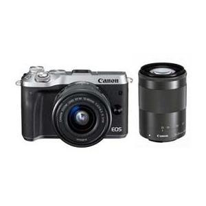 Canon EOS M6 ダブルズームキット (シルバー) JAN末番094268|araicamera