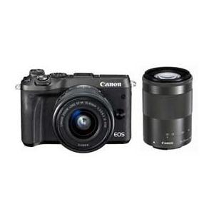 Canon EOS M6 ダブルズームキット (ブラック) JAN末番4220 araicamera