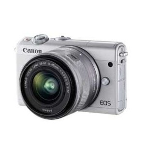 Canon EOS M100 EF-M15-45 IS STM レンズキット (ホワイト) JAN末番3865|araicamera