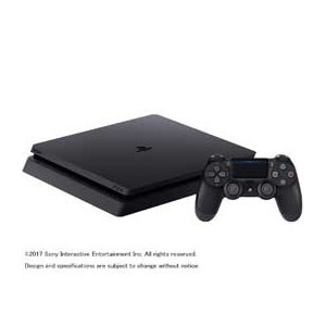 SONYプレイステーション4 HDD 500GB ジェット・ブラック CUH-2100AB01 JAN末番414425|araicamera