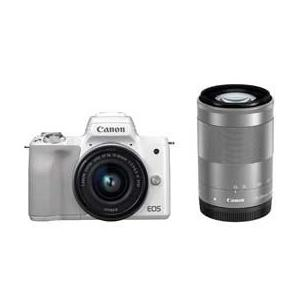 Canon EOS Kiss M ダブルズームキット (ホワイト) JAN末番9382 araicamera