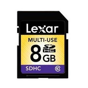 レキサー 高速SDHCメモリーカード(Class10対応・8GB) LSD8GBABJPC10 JAN末番2734|araicamera