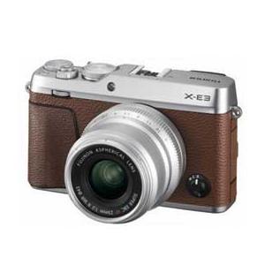 FUJIFILM X-E3 単焦点レンズキット (ブラウン) JAN末番94408月23日発売予定|araicamera