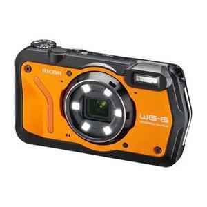 リコー RICOH WG-6 オレンジ JAN末番936432 新発売|araicamera