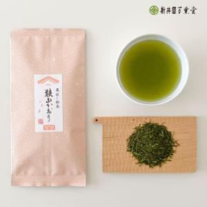 期間限定価格「蔵出し新茶 狭山かおり」100g 深蒸煎茶(宅配便)|araienmanyodo-1