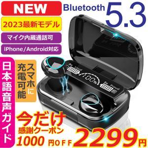 ワイヤレスイヤホン Bluetooth5.1 コンパクト 高音質 重低音 防水 スポーツ iPhone Android ブルートゥース 最新型|才谷屋 PayPayモール店