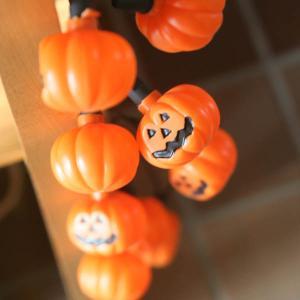 ジャック オ ランタン「カボチャのハロウィンデコレーションライト」10球ガーランドライトパンプキン arancia-mm