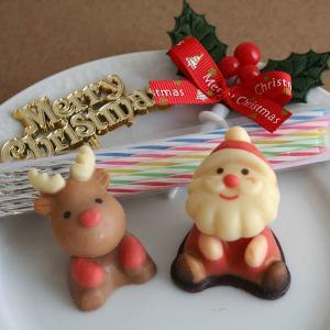 クリスマスケーキオーナメントセット(シュガーサンタクロース&...