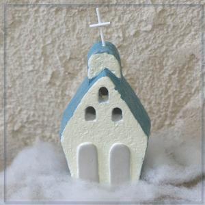 【クリスマスオーナメント】ガーデンマスコット(教会)|arancia-mm
