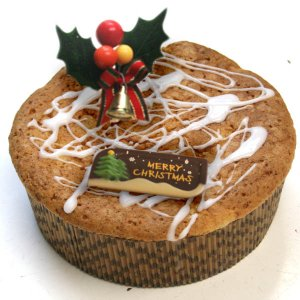 聖ジンジャップル(リンゴと生姜のベイクドバターケーキのクリス...