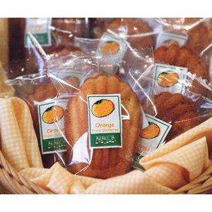 みかんのマドレーヌ(焼き菓子)〜下津町上山さんの温州ミカンのピールと果汁入り arancia-mm