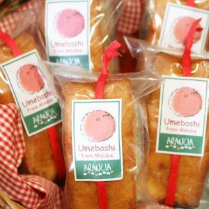 うめぼしのパウンドケーキ〜橋本市生地さんのこだわり梅干を焼き込んだ甘塩スイーツ(焼き菓子) arancia-mm