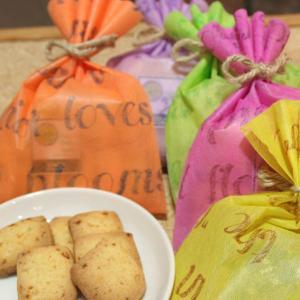 和歌山産ジャバラオレンジクッキー ギフトラッピング(花粉の季節にオススメの柑橘系の爽やかでほろ苦いクッキー・焼き菓子プチギフト)【お祝い・お礼に】|arancia-mm
