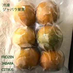 【冷凍国産フルーツ】「和歌山産ジャバラまるごと果実」新岡農園の柑橘フルーツ「紀州かつらぎ山じゃばら」Sサイズ500g 花粉の季節に|arancia-mm