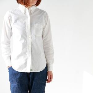 or slow オアスロウ ボタンダウンホワイトシャツ BUTTON DOWN SHIRTS|aranciato