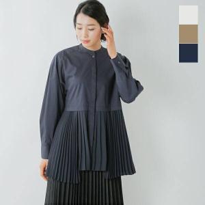CLANE クラネ ミックスプレートレイヤーシャツ 10108-3052 2021ss新作|aranciato