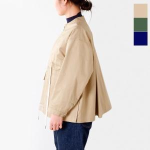 【60%OFF】Scye サイ コットンヘリンボーン ジップアップジャケット 1217-61054 レディース|aranciato