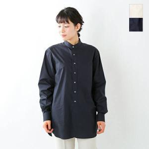【☆】Scye サイ ウォッシュドコットンポプリングランダッドカラーシャツ 1221-31019 2021ss新作|aranciato