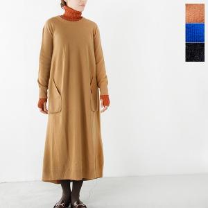 【☆】iliann loeb イリアン ローブ メリノウールロングドレス