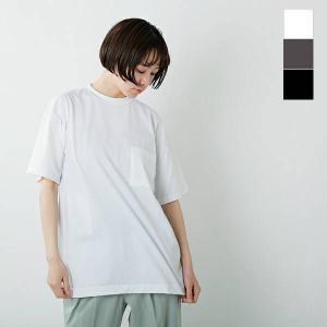 【クーポン対象】【40%OFF】GICIPI ジチピ コットンクルーネック リラックスフィットポケット付きTシャツ GRANCHIO 2105p 2021ss新作|aranciato