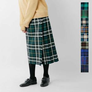 O'NEIL OF DUBLIN オニールオブダブリン aranciato別注チェック巻きスカート 5073w|aranciato