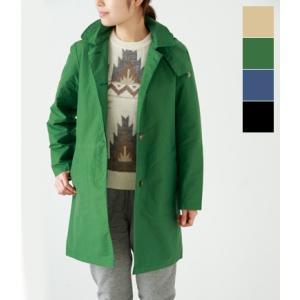 SIERRA DESIGNS シエラデザイン フード付ステンカラーコート GIRLS COAT aranciato