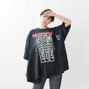 【クーポン対象】【40%OFF】dawn ドーン アソートプリントTシャツ PHILOSOPHY & DON'T LISTEN TO assort-tshirt 2021ss新作|aranciato