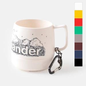 "and wander(アンドワンダー)より、カラビナ付断熱カップ""and wander DINEX""..."