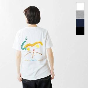 【クーポン対象】EEL イール コットンプリントTシャツ HOME×yamase Mayumi e-21515 2021ss新作|aranciato