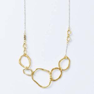 Joli&Micare ジョリー&ミカーレ ネックレス 5Ring long Necklace fir0109|aranciato