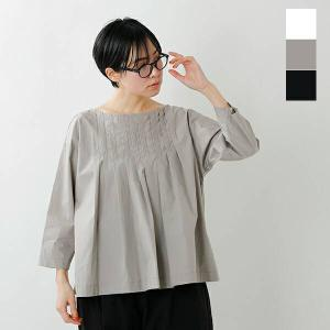 【40%OFF】Gauze# ガーゼ コットンランダムタックプルオーバーシャツ g572 2021ss新作|aranciato